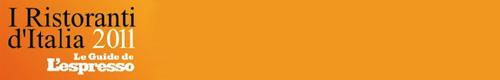 Ristorante Pesce d'Oro segnalato su Guida L'Espresso